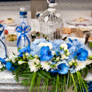Table Setting for Wedding Shower