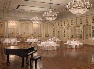 An Image of the Peabody Ballroom.