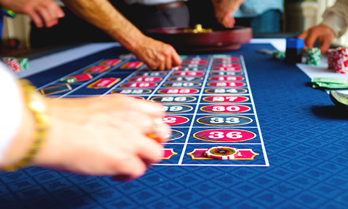 A roulette table can easily be incorporated into your casino-themed event.