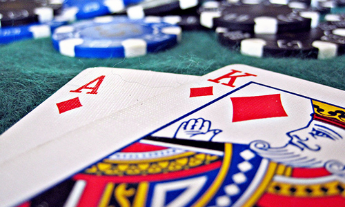 Poker cards and chips for your poker-themed event.