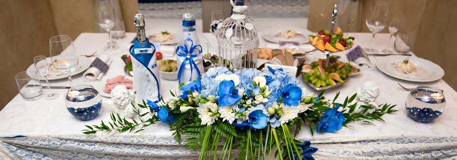 Table Setting for Wedding Shower
