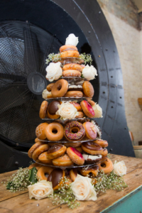 Wedding cake alternatives - donuts