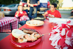 college football tailgate
