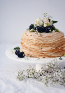 Wedding cake alternatives - crepes
