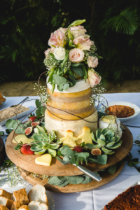 Wedding cake alternatives - cheese cake