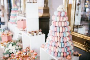 Wedding cake alternatives - macarons