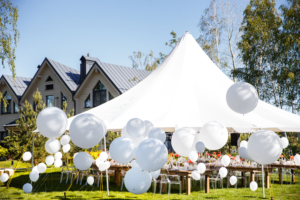 outdoor party tent rentals